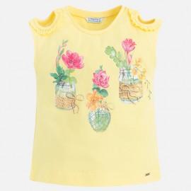 Mayoral 3030-84 Koszulka dziewczęca kolor żółty