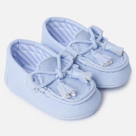 Mayoral 9743-46 Mokasyny chłopięce kolor niebieski