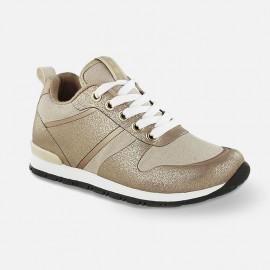 Mayoral 44759-52 Buty dziewczęce adidas kolor piaskowy