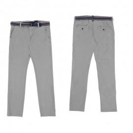 Mayoral 6526-86 Spodnie chłopięce z paskiem kolor wapń