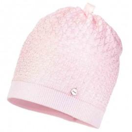 Jamiks czapka dziewczęca ANGELA JWA098-1 kolor róż