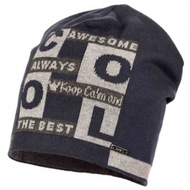 Jamiks czapka chłopięca CAMILO JWA046-1 kolor dżins