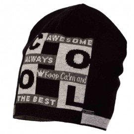 Jamiks czapka chłopięca CAMILO JWA046-4 kolor czarny