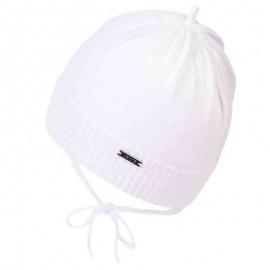 Jamiks czapka chłopięca MAC JWA056-4 kolor biały