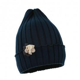 Pupil czapka dziewczęca Luca kolor granat