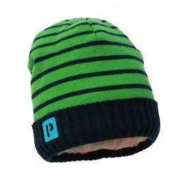 Pupil czapka chłopięca Yes kolor zielony