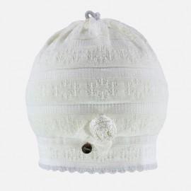 Jamiks czapka dziewczęca ARLETA JWA018-1 kolor ekri