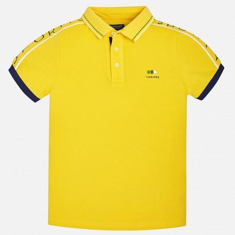 Mayoral 6136-28 Polo chłopięce krótki rękaw kolor żółty 9d1decd4409