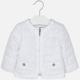 Mayoral 1436-63 Kurtka dla dziewczynki Wiatrówka kolor biały