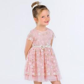 Mayoral 3918-22 Sukienka dziewczęca kolor Pąsowy