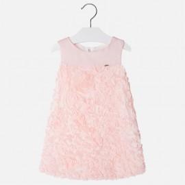 Mayoral 3924-27 Sukienka dziewczęca tiul kolor rumiany