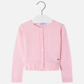 Mayoral 3302-73 Sweter dziewczęcy kolor róż
