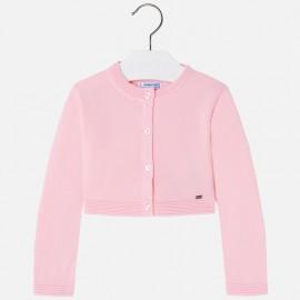 Mayoral 321-11 Sweter bolerko dziewczęce kolor róż