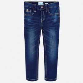 Mayoral 3534-91 Spodnie chłopięce denim kolor granat