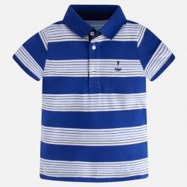 Mayoral 3122-81 Koszulka chłopięca polo paski kolor niebieski