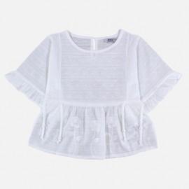 Dr.Kid DK469-000 bluzka dziewczęca motyl kolor biały