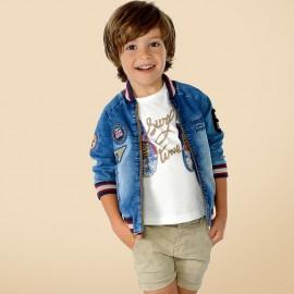 Mayoral 3460-5 kurtka chłopięca kolor Jeans