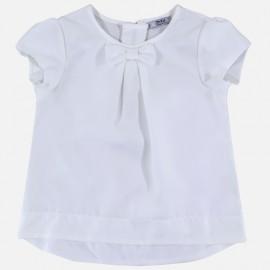 Dr.Kid DK478-000 bluzka dziewczęca elegancka kolor biały