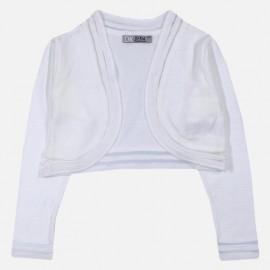Dr.Kid DK499-000 bolerko dziewczęce kolor kolor biały