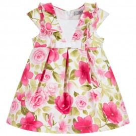 Dr.Kid DK376-760 sukienka dziewczęca elegancka kolor fuksja