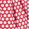 Dr.Kid DK407-160 sukienka dziewczęca elegancka kolor czerwony