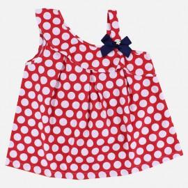 Dr.Kid DK409-160 bluzka dziewczęca elegancka kolor czerwony