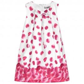 Dr.Kid DK373-760 sukienka dziewczęca elegancka kolor czerwony