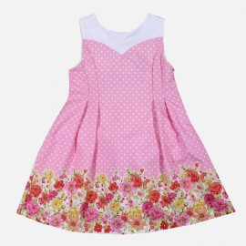 Dr.Kid DK477-240 sukienka dziewczęca elegancka kolor róż
