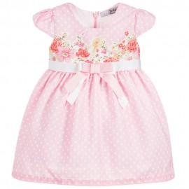Dr.Kid DK77-240 sukienka dziewczęca elegancka kolor róż