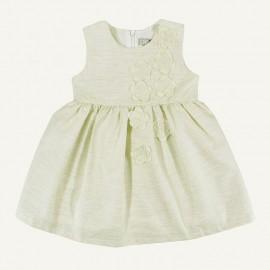 Dr.Kid DK396-454 sukienka dziewczęca elegancka kolor ekri