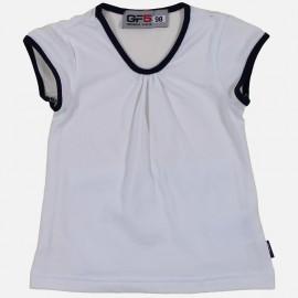GF5 Bluzka dziewczęca GBL-17-01-W6 kolor Biały