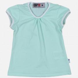 GF5 Bluzka dziewczęca GBL-17-01-Z21 kolor Miętowy