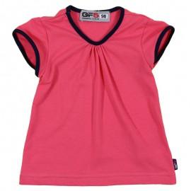 GF5 Bluzka dziewczęca GBL-17-01-P4 kolor Malinowy