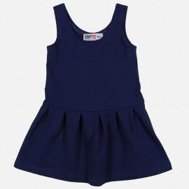 GF5 Sukienka dziewczęca GSK-17-01-N27 kolor Granatowy