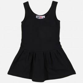 GF5 Sukienka dziewczęca GSK-17-01-BLK kolor Czarny