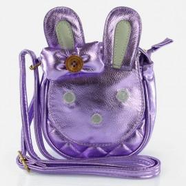 Torebka dziewczęca Inca 62042 zając kolor fiolet