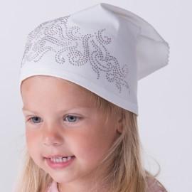 Jamiks chustka dziewczęca OLIWIA JLA046 kolor biały