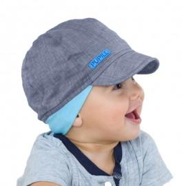 Pupil czapka chłopięca CHIUMBO 11 kolor niebieski