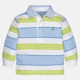 Mayoral 1148-71 Koszulka chłopięca kolor biała/zielona/niebieska