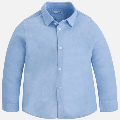 Mayoral 141-30 Koszula chłopięca kolor błękitny
