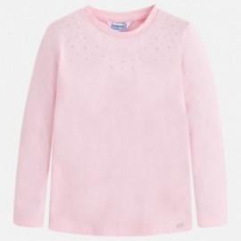 Mayoral 175-57 Koszulka dziewczęca kolor różowy