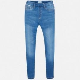 Mayoral 554-90 Spodnie dziewczęce kolor jasny jeans
