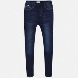 Mayoral 554-91 Spodnie dziewczęce kolor ciemny jeans
