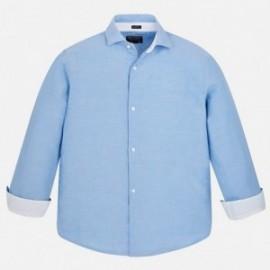 Mayoral 872-63 Koszula chłopięca kolor błękitny