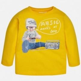 Mayoral 1068-41 Koszulka chłopięca kolor żółty