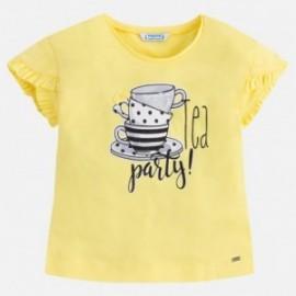 Mayoral 3036-48 Koszulka dziewczęca kolor żółty