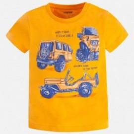 Mayoral 3057-73 Koszulka chłopięca kolor żółty