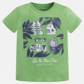 Mayoral 3065-94 Koszulka chłopięca kolor zielony