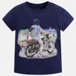 Mayoral 3069-82 Koszulka chłopięca kolor granat