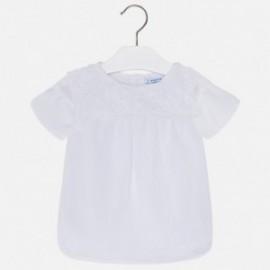 Mayoral 3110-24 Bluzka dziewczęca kolor biały